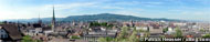 huge panorama picture of zuerich